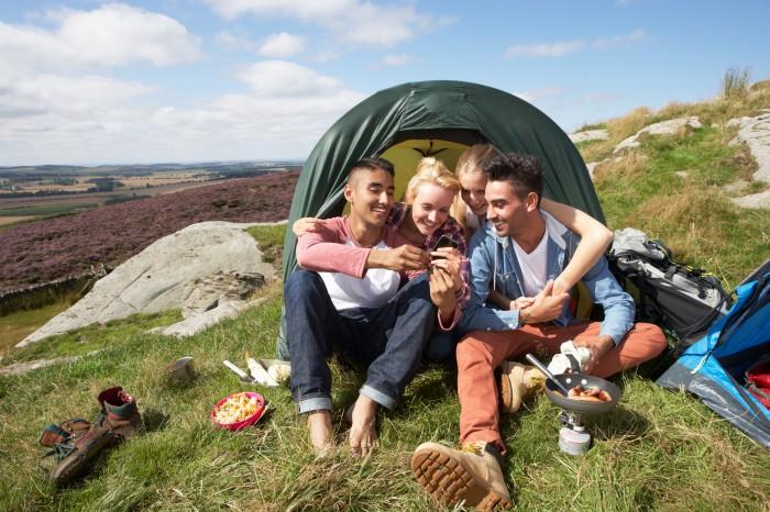 camping cap ferret